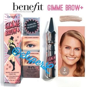 2/$30 Benefit Gimme Brow+ Volumizing Eyebrow Gel 2